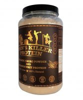 Organic Cacao Whey Protein Blend. Soy Free Protein, GMO Free Protein and Organic Cacao Powder.