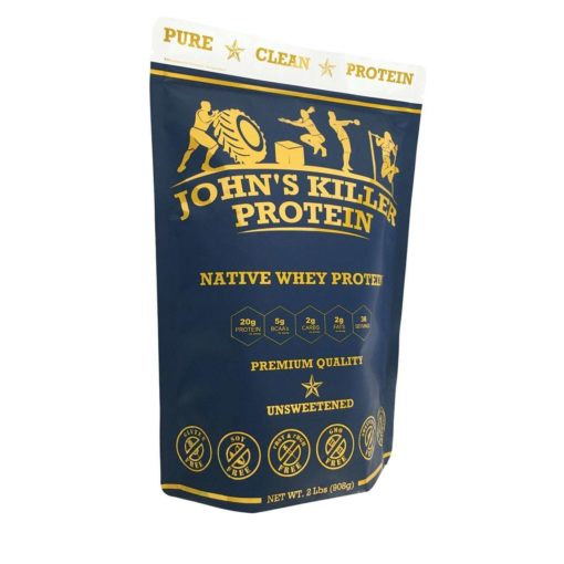 sugar free grass fed native whey protein