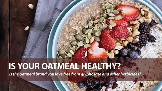 Glyphosate Free Oatmeal